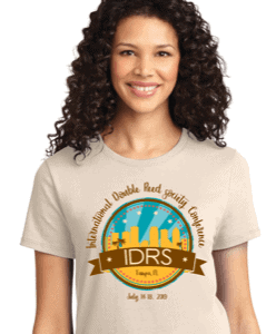 IDRS 2019 Conference tee shirts